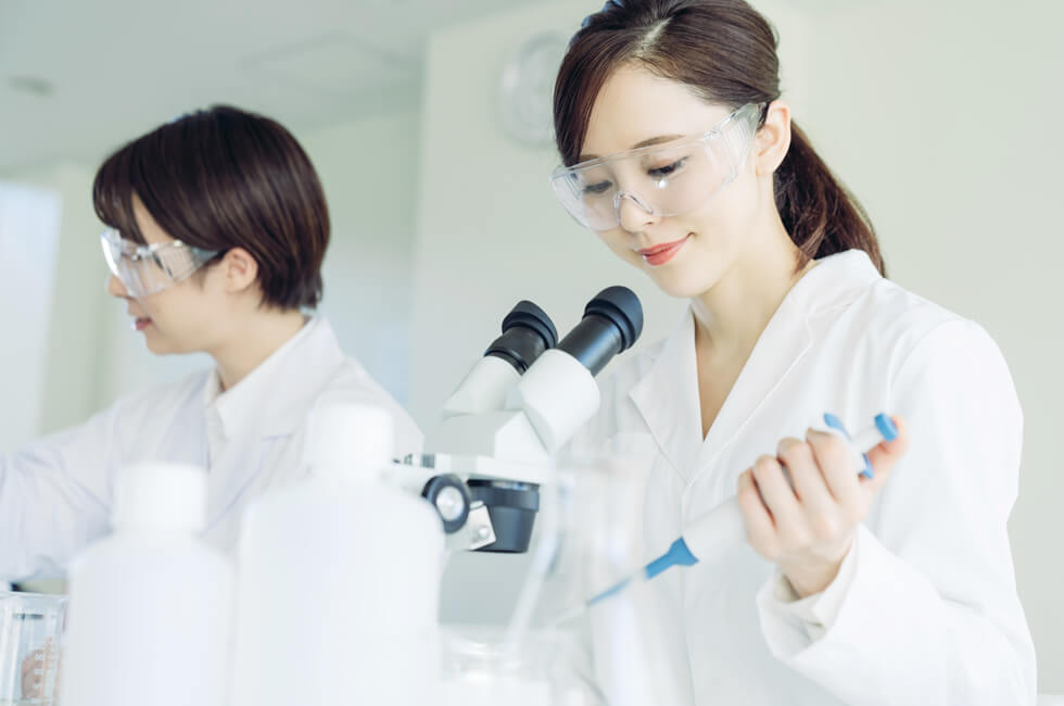 EQUIPMENT FOR LABORATORY 研究者の立場から開発されたラボラトリープロダクツ